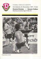 OL 89/90 SG Dynamo Dresden - BSG Energie Cottbus