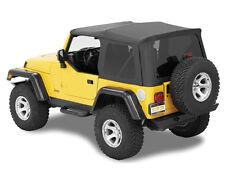Supertop NX schwarz ohne Steckfenster Verdeck Softtop Jeep Wrangler TJ 97-06