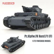 DRAGON WWII GERMAN Pz.Kpfw.IV Ausf.F1 (F) 1/72 tank model finished non diecast