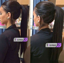 """12""""-22"""" 100% Brazilian Remy Human Hair natural silky straight Full lace wig"""