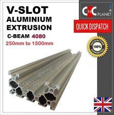 C-BEAM V-SLOT 4080 ALUMINIUM EXTRUSION U PROFILE LINEAR GUIDE RAIL CNC 3D PRINTR