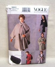 Vogue Accessories Shawl Wrap & Muff Pattern #9891 One Size NEW UNCUT