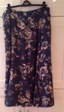 Monsoon Silk Calf Length Plus Size Skirts for Women