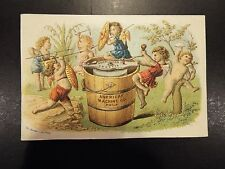 The American Ice Cream Freezer Victorian Trade Card