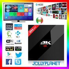 Android 7.1 H96 Pro Plus 2GB 16GB Octa-Core Kodi WIFI IPTV 4K Smart TV Box HD