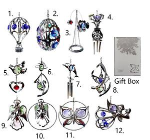 Crystocraft Suncatcher Windchime Ornament Crystal Swarovski Elements Gift Box