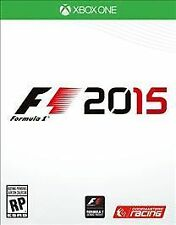 F1 2015 RE-SEALED Microsoft Xbox One 1 XB XB1 XB3 RACING GAME 2K15 15 FORMULA