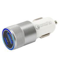 KFZ Auto USB Adapter Ladegerät 2,5 A 12V Zigarettenanzünder Car Charger Silber