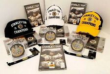 Boston Bruins 2011 Stanley Cup Champions Hat Cap Upper Deck Cards NEW DVD Puck
