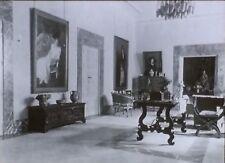 1915, Sorolla's Residence, Living Room, Madrid, Spain, Magic Lantern Glass Slide