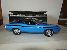 Jim Beam Blue 426 Hemi 1970 Dodge Challenger Decanter Never Displayed
