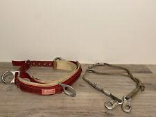 SKY GENIE Lineman's Belt With Seat, Great Shape