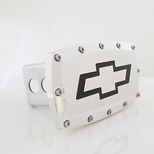Chevrolet Bowtie Chrome Billet w/ Allen Bolts Tow Hitch Cover