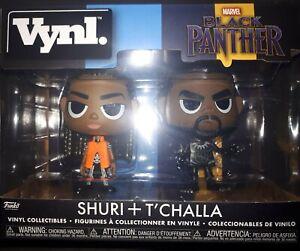 Funko Vynl Black Panther SHURI + T'CHALLA