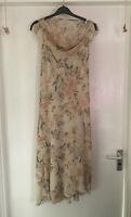 Ladies - Women's - Dress Size 12 - Eur 40 - Multi - Chiffon - Floral- Fabulous❤️