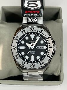 Seiko 5 SRP SRP599/SRP605 Baby Monster Automatic Watch Made In Japan *UK Seller*