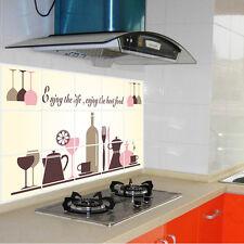 Küche Oilproof Umweltschutz Wandtattoo Wandaufkleber Wandsticker Wall Dekoration
