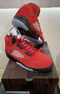 ✅ Nike Air Jordan 5 Raging Bull 2021 Size 12 DD0587-600 Toro Bravo DS