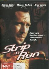 STRIP N RUN - Michael Madsen, L.P. Brown III, Charles Napier -  DVD