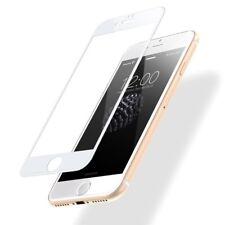 """Cristal templado curvo BLANCO 5D protector pantalla para Iphone 7 y 8 4.7"""".Ordin"""