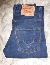 Levis 511 Mens Slim Fit Jeans 30W X 32L Dark Blue Very Good Condition