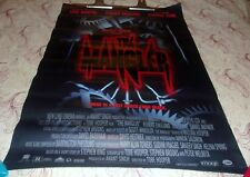 The Mangler movie poster 1994 Horror Robert Englund Tobe Hooper
