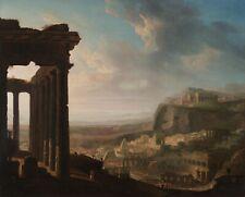 "John Martin : ""Ruins of an Ancient City"" (c.1810-1820) — Giclee Fine Art Print"