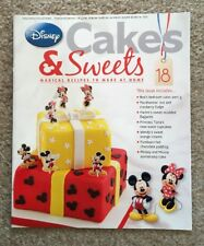 Disney Cakes & Sweets Magazine Issue 18 (MAG ONLY)