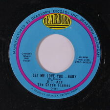 HT & GREEN FLAMES: Let Me Love You Baby / Love Don't Pay 45 Rock & Pop