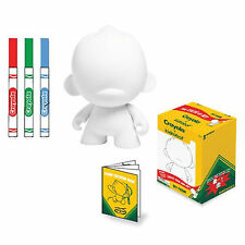 Kidrobot Crayola Do It Yourself Foomi 4 Inch Blank Vinyl Figure NEW Toys DIY