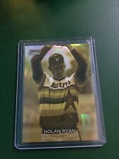 2018 Topps Stadium Club Nolan Ryan Gold Chrome Card