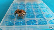 Pfaff Spulenkapsel +25 Spulen inkl. BOX für  Pfaff und Gritzner Nähmaschinen