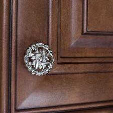 "5745-SN - 1-3/8"" Celtic Medallion Cabinet Knob - Satin Nickel GlideRite"
