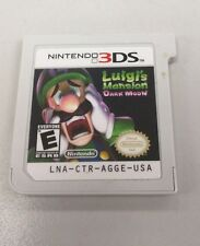 Luigi's Mansion: Dark Moon Nintendo 3DS 2013 Game Only No Case / Documentation