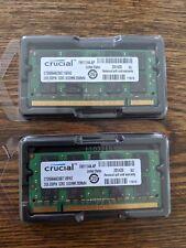 Crucial PC2-5300 4 GB SO-DIMM 667 MHz DDR2 RAM