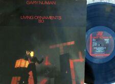 Gary Numan ORIG UK LP Living ornaments '80 EX Beggars Banquet BEGA25 New wave