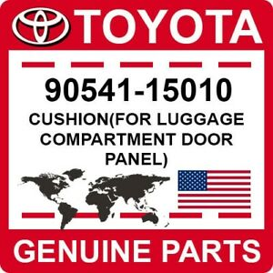 90541-15010 Toyota OEM Genuine CUSHION(FOR LUGGAGE COMPARTMENT DOOR PANEL)