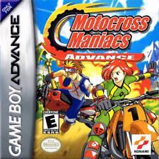 Motocross Maniacs GBA New Game Boy Advance