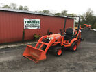2017 Kubota BX23S 4x4 Hydro 23Hp Compact Tractor Loader Backhoe w/ 800Hrs!