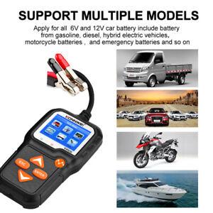 KONNWEI KW650 Battery Tester 12V 6V Car Motorcycle Battery System Analyzer ONY