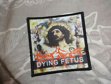 Dying Fetus Patch Death Metal Misery Index