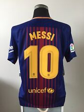 MESSI #10 BNWT Barcelona Home Football Shirt Jersey 2017/18 (L)