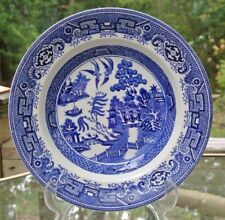 "Vintage Blue Willow Old Gustavsberg Soup Bowl 9-1/4"""