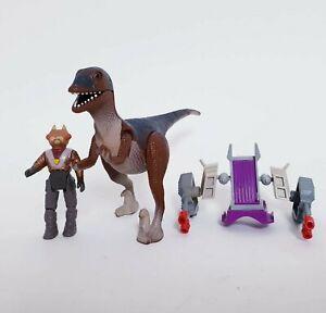 Vintage Dino Riders Rulons Antor & Deinonychus Tyco 1987 Toy Dinosaur Figure