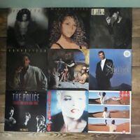 23 pop 80s vinyl albums. Eurythmics / Mariah Carey / Phil Collins / Cyndi Lauper
