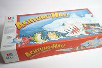 Achtung Hai ! - MB Spiele 1988 - alte Ausgabe mit Motor - Action Spiel Klassiker