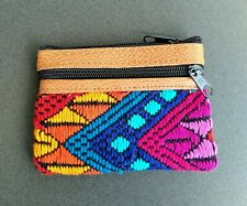 Handmade Embroidered Coin Purse /  Pouch Bag