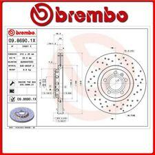 09.8690.1X#119 DISCO FRENO ANTERIORE SPORTIVO BREMBO XTRA AUDI A6 Avant (4B5, C5