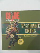 "1996 GI G I Joe Action Marine Figure Masterpiece Edition 11"" Hasbro New in Box"
