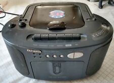 AIWA CSD-EX03 Stereo CD Cassette AM FM Radio, Boombox, Everything Works Tested